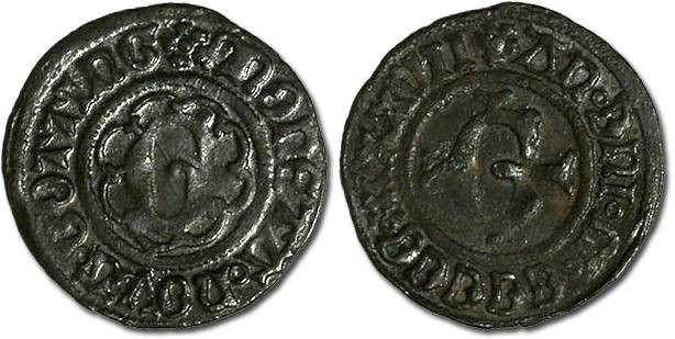 World Coins - Göttingen City - Körtling 1537 - VF+, very darkly toned