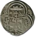 World Coins - Salzburg - 2 Pfennig 1537, uniface Zweier - F