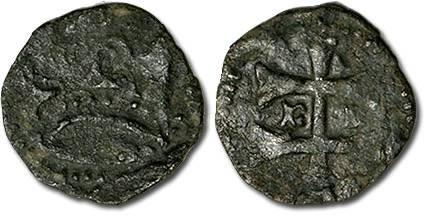World Coins - Hungary - Husz. 586 - Quarting (MM n-?), crude VG