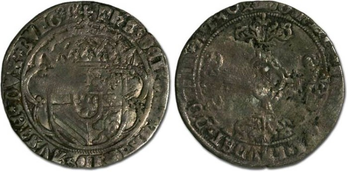 World Coins - Brabant - Philip the Fair, 1492-1506 - Double Patard 1504 - VG