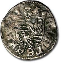 Ancient Coins - Hungary - Husz. 576 - Denar (MM: *), VG+