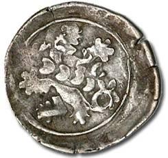 Ancient Coins - Bohemia - Wenceslas IV, Hussite Period, 1420-1436 - Heller - Crude VF