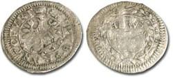 World Coins - Frankfurt - 1 Albus 1656 - F/VG