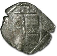 World Coins - Carinthia, Klagenfurt, Ferdinand I, 1521-1564 - Uniface Pfennig 1532 - VG, cleaned