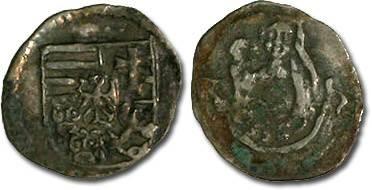 Ancient Coins - Hungary - Wladislavs II, 1490-1516 - Obolus (MM: K-h) - F/VG