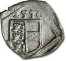 World Coins - Carinthia, Klagenfurt, Ferdinand I, 1521-1564 - Uniface Pfennig 1530 - VF, cleaned