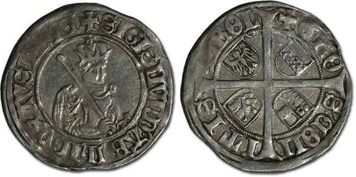 World Coins - Tirol, Hall - Erzherzog Sigismund - Sechser - VG+