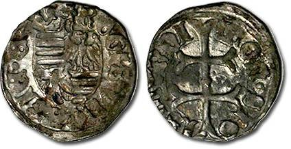 Ancient Coins - Hungary - Husz. 576 - Denar (MM: n), F