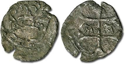 Ancient Coins - Hungary - Husz. 586 - Quarting (MM A-A), crude F