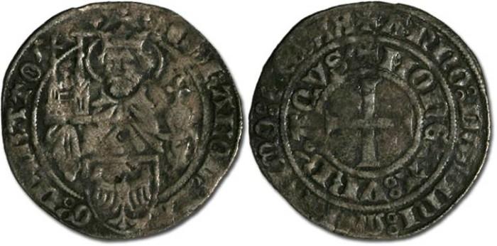 Ancient Coins - Aachen - Groschen 1420 - VG