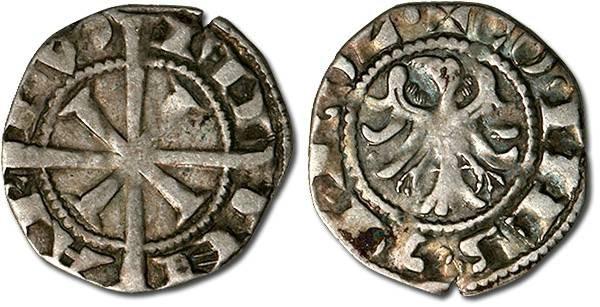 Ancient Coins - Tirol - Meinhard II, 1257/1271-1295 - Zwanziger (Adlergroschen), VF