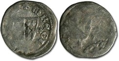 World Coins - Hungary - Karl Robert, 1307-1342 - Denar (MM: C-R) - G
