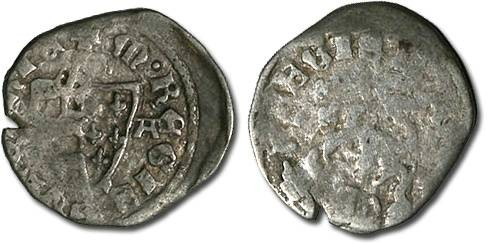 Ancient Coins - Hungary - Karl Robert, 1307-1342 - Denar (MM: A-A) - G