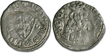 Ancient Coins - Hungary - Karl Robert, 1307-1342 - Denar (MM: B-V) - F
