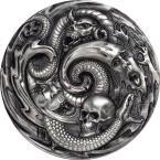 Mints Coins - PANDORA BOX Evil Within EHR Epic High Relief 3 Oz Silver Coin 20$ Palau 2019