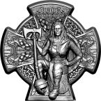 Mints Coins - BOUDICA WARRIOR QUEEN 3 Oz Silver Coin 5£ Isle of Man 2020
