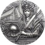 Mints Coins - AMATERASU Gods Of The World 3 Oz Silver Coin 20$ Cook Islands 2021