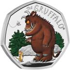 Mints Coins - GRUFFALO MOUSE Beast Silver Coin 50 Pence United Kingdom 2019