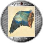 Mints Coins - WING OF A EUROPEAN ROLLER Albrecht Dürer Silver Coin 500 Francs Cameroon 2021