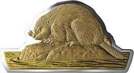 Mints Coins - BEAVER Silver Coin 50$ Canada 2020
