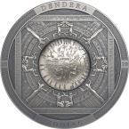 Mints Coins - DENDERA Zodiac Archeology Symbolism 3 Oz Silver Coin 20$ Cook Islands 2020