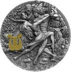 Mints Coins - APOLLO God Of The Sun Gods 2 Oz Silver Coin 2$ Niue 2020