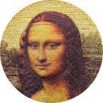 Mints Coins - MONA LISA Monna Leonardo Da Vinci Great Micromosaic Passion 3 Oz Silver Coin 20$ Palau 2018