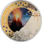 Mints Coins - INFERNOMANT Treasures of the Blue Planet Bull and Bear 1 Oz Silver Coin 5 Cedis Ghana 2019