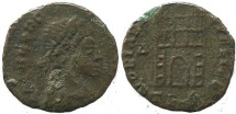 Ancient Coins - Theodosius I campgate - Thessalonica mint