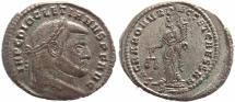 Ancient Coins - Roman coin of Diocletian Ae large follis - SACRA MON VRB AVGG ET CAESS NN - Rome