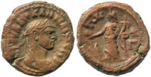 Ancient Coins - Diocletian Potin Tetradrachm minted in Alexandria, Egypt - Year 3