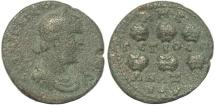 Ancient Coins - Roman Provincial coin of Valerian I Ae26 - Anazarbus, Cilicia