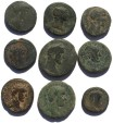 Ancient Coins - Lot of 9 larger Roman Provincial coins