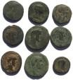 Ancient Coins - Lot of 9 larger Roman Provincial coins