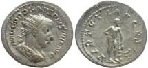 Ancient Coins - Gordian III AR silver antoninianus - VIRTVTI AVGVSTI