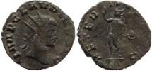Ancient Coins - Claudius II AE Antoninianus - AETERNIT AVG - Rome