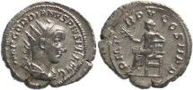 Ancient Coins - Gordian III 238-244AD Antoninianus - Apollo seated