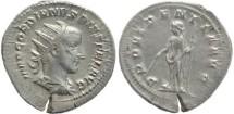 Ancient Coins - Gordian III AR silver antoninianus - PROVIDENTIA AVG