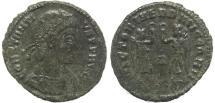 Ancient Coins - Roman coin of Constantius II - VICTORIAE DD AVGG Q NN