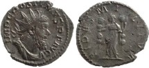 Ancient Coins - Postumus silvered antoninianus - FIDES MILITVM