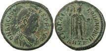 Ancient Coins - Arcadius Ae2 - GLORIA ROMANORVM - Antioch Mint - 15 May 392 - 17 Jan 395AD