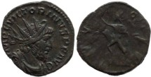 Ancient Coins - Victorinus AE Antoninianus - Cologne Mint - INVICTVS