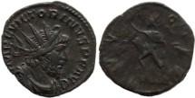 Ancient Coins - Victorinus AE Antoninianus - Cologne Mint - INVICTVS