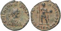 Ancient Coins - Roman coin of Theodosius I - GLORIA ROMANORVM - Alexandria