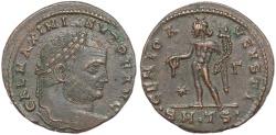 Ancient Coins - Roman coin of Galerius - GENIO AVGVSTI - Thessalonica
