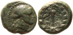 Ancient Coins - Lydia, Sardes AE14 After 133 B.C.
