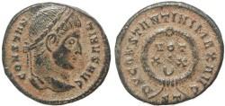 Ancient Coins - Roman coin of Constantine I - DN CONSTANTINI MAX AVG VOT XX - Ticinum