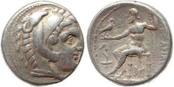 Ancient Coins - Macedonian Kingdom - Alexander III the Great AR Tetradrachm, circa 315-294 BC Posthumous Issue