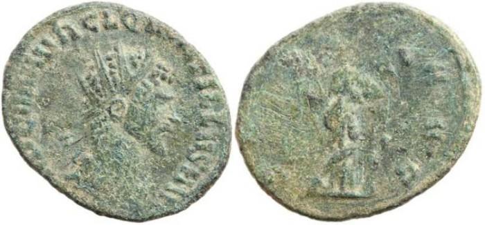 Ancient Coins - Quintillus 270AD - SECVRIT AVG