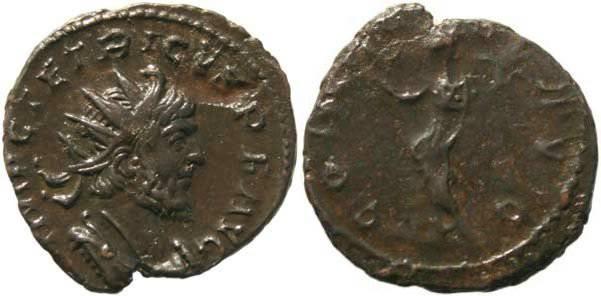 Ancient Coins - Tetricus I Antoninianus - CONCORDIA AVG
